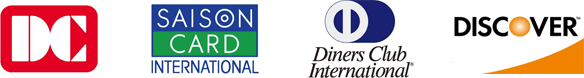 DC,SAISON CARD,Diners Club INTERNATIONAL,Discover